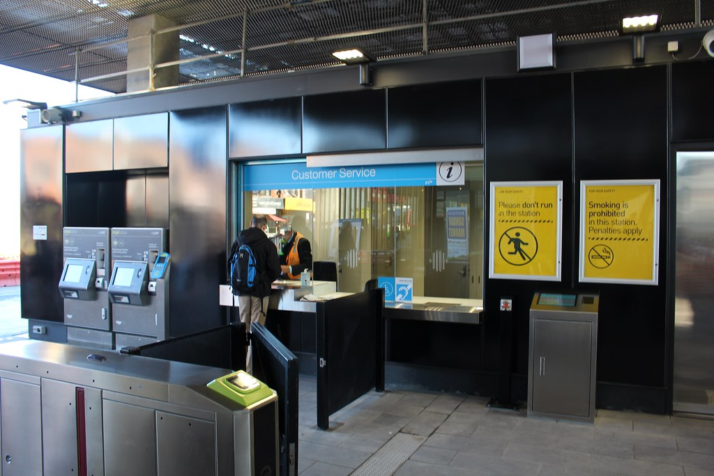 Bentleigh station ticket office
