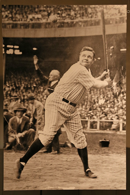 Photograph of Babe Ruth