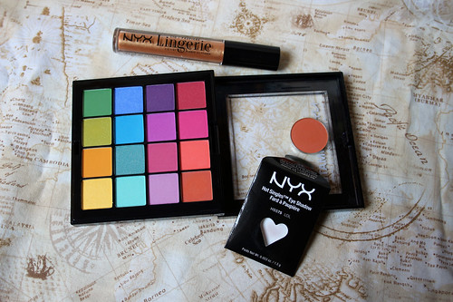 Tiny NYX haul from last Saturday