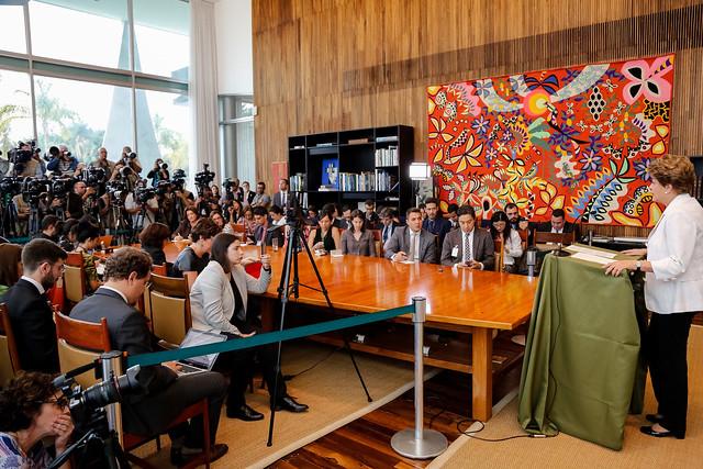Mensagem ao Senado e ao Povo Brasileiro