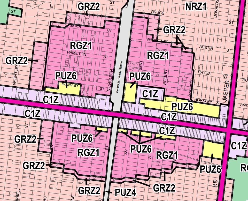 Planning scheme: Bentleigh