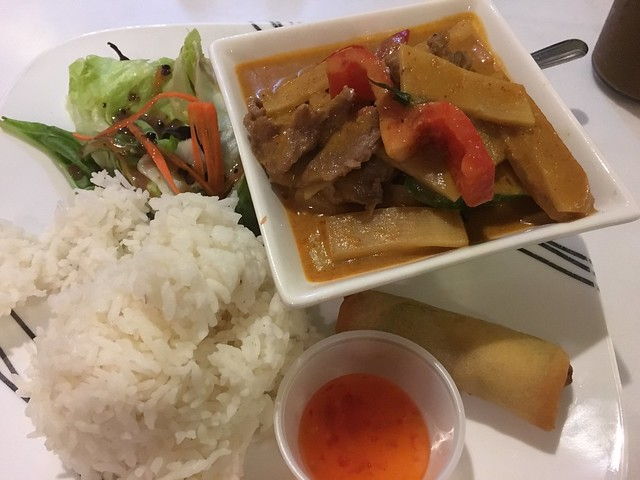 Panang curry beef - Banana House
