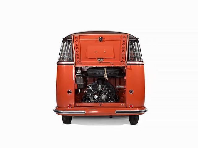 Микроавтобус Volkswagen T1 Fenster Barndoor Samba 1955 года