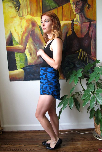 Silk Rite of Spring shorts