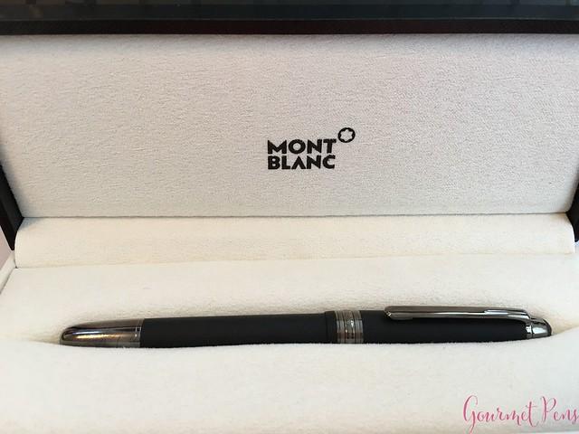 Review Montblanc Meisterstück Classique Ultra Black Fountain Pen @couronneducomte @Montblanc_World4