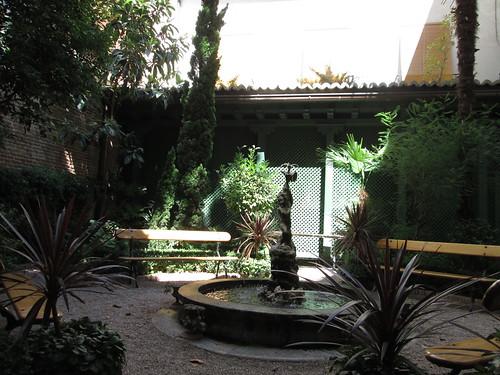 Café del Jardín, Museo del Romanticismo. Madrid