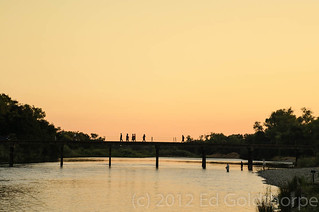 Sunset by the river | by suburban trunk monkey