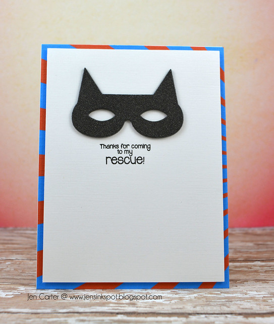 Jen Carter Superhero Mask Rescue Front