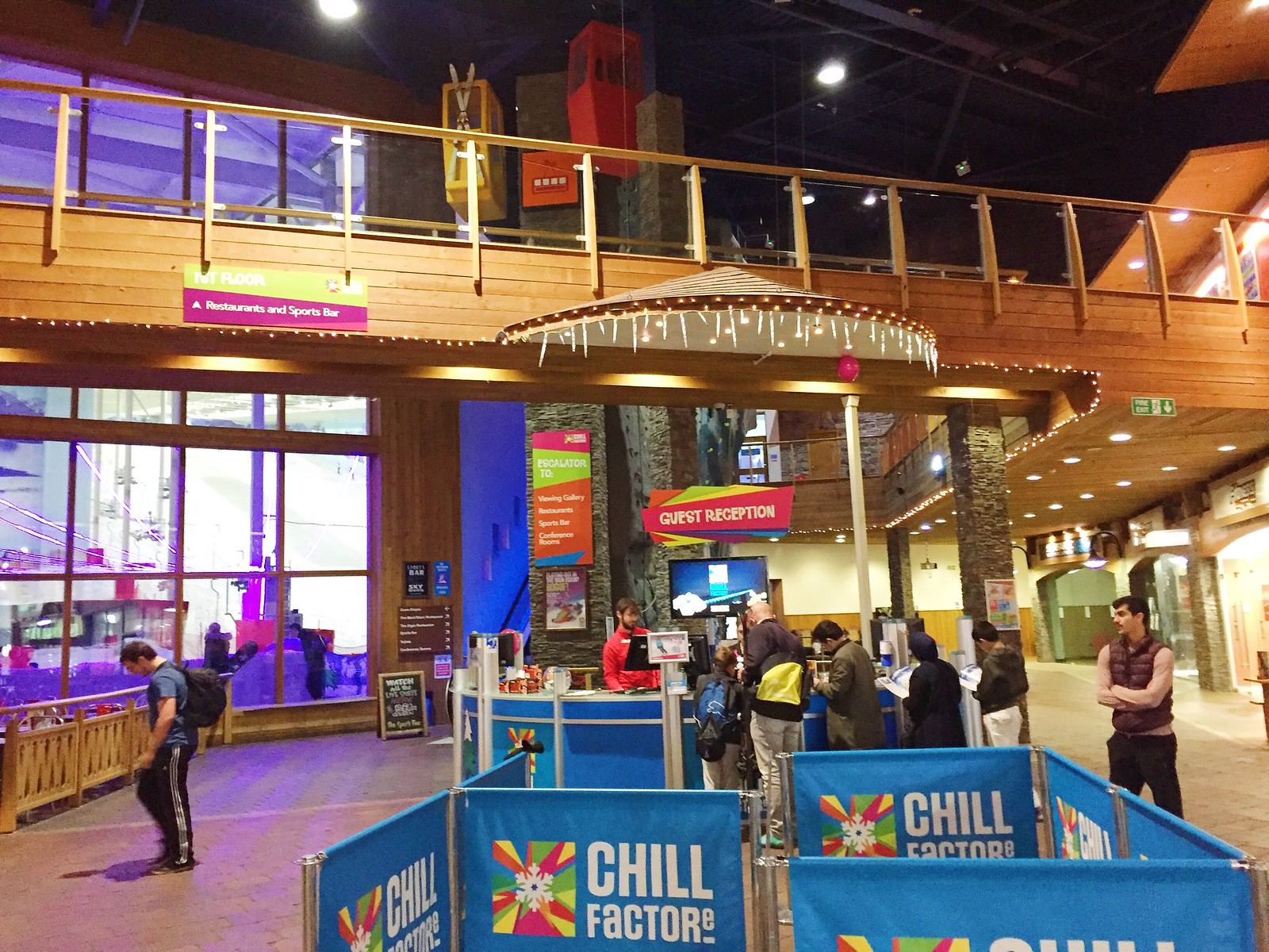 Chill Factore Main Reception