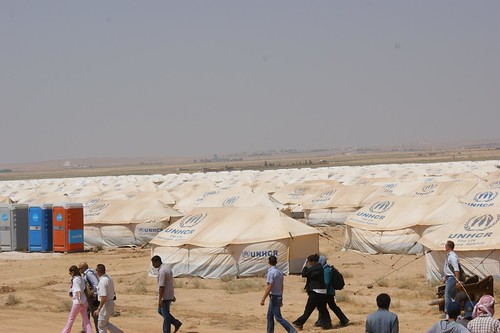 UNHCR News Story: Jordan opens new camp for Syrian refugees amid funding gaps | by UNHCR