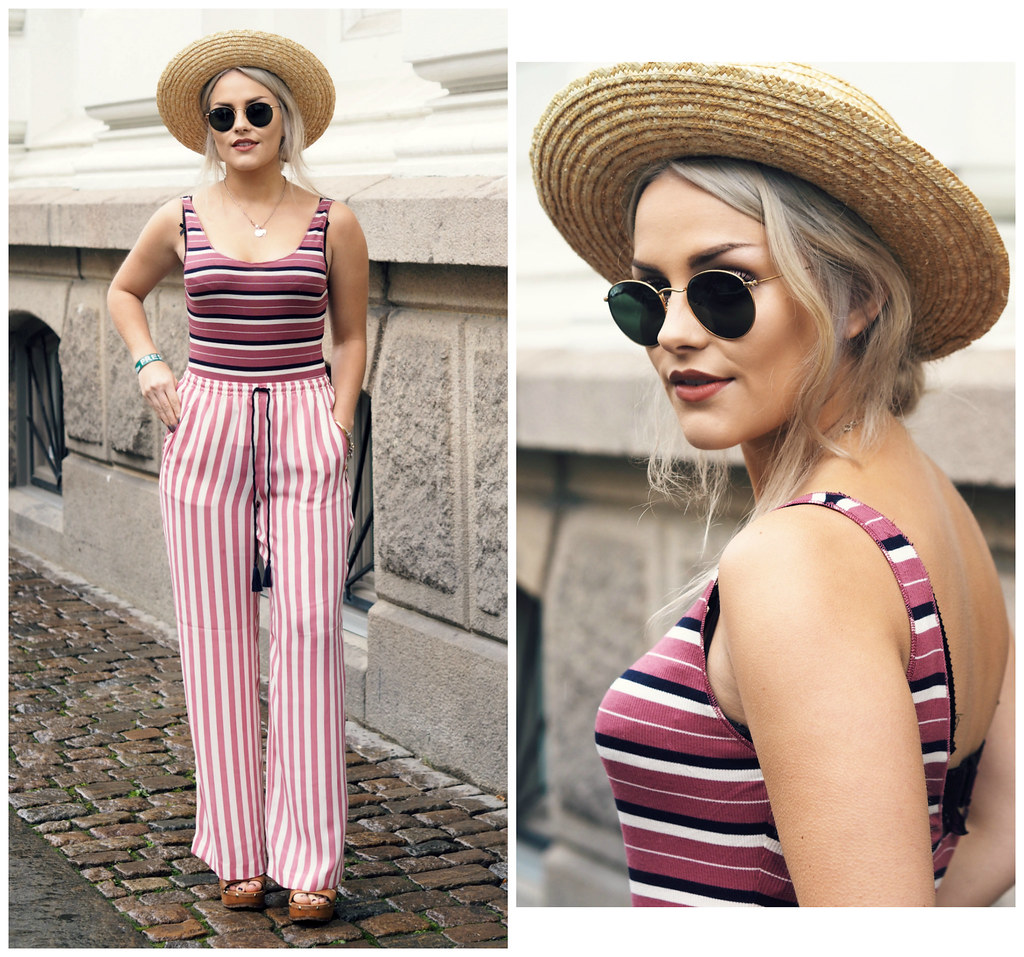 The Little Magpie Stripe Co-ord