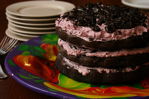 blackberry oreo cake 6 | by crumblycookie