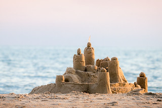 a sand castle | by harlanov