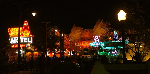 Cars Land at Night | by mdoeff