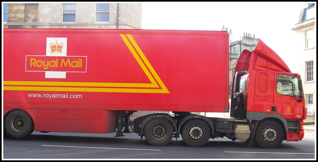 DAF CF Royal Mail postal Truck
