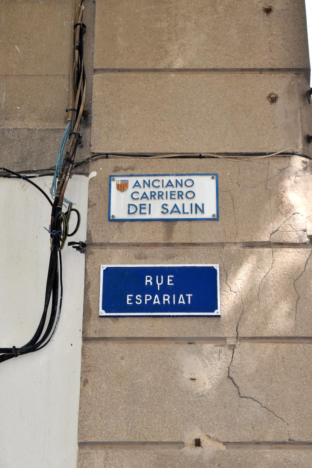 Ancieno Carriero dei Salin - provencal language