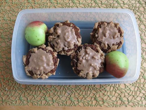 Apfel-Kürbis-Muffins (als Verpflegung für Radtour)