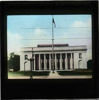 United States Post Office and Court House, Charlotte, North Carolina (Lantern Slide) | by The Postal Museum