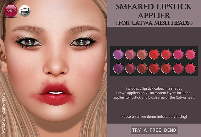 Smeared Lipstick Applier (Catwa)