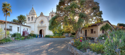 Carmel Mission Panorama - Carmel, CA | by Axe.Man