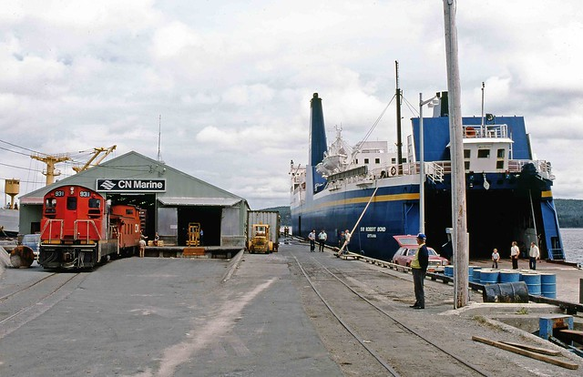 CN NF210 #931 at Lewisporte NL, 1980