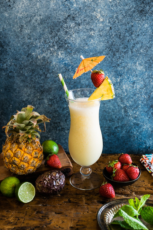cool and refreshing passion colada