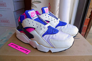 Nike Wmns Air Huarache LE Pink/ Blue OG ('91). | by gooey_wooey