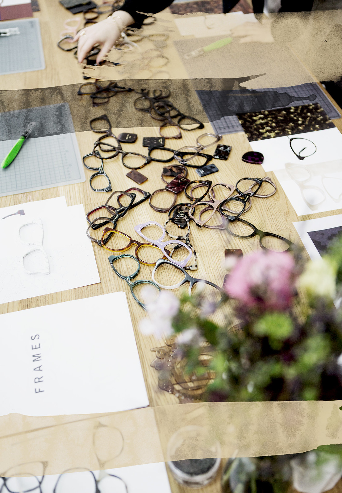 design day mister spex behind the scenes blogger workshop bloggers glasses collection creating diy art selfmade how to beauty beautiful fun girlfriends ricarda schernus fashionblogger cats & dogs modeblog berlin fashionblogger 4