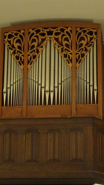 Organ in St. John Lutheran Church