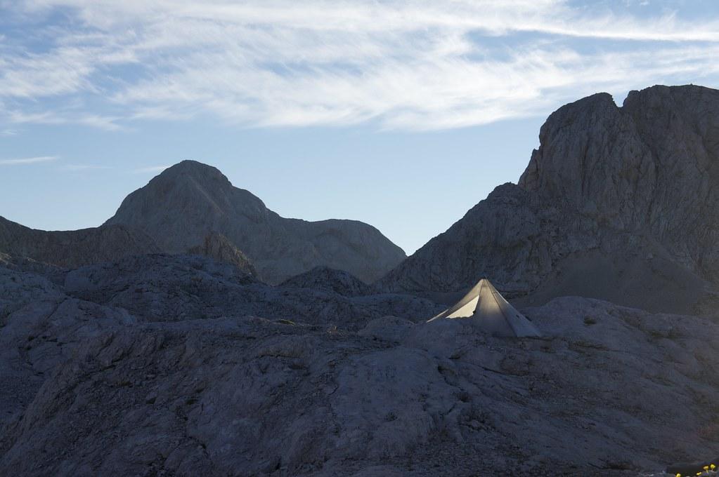 Locus Gear Khufu CTF3, Julian Alps, Slovenia
