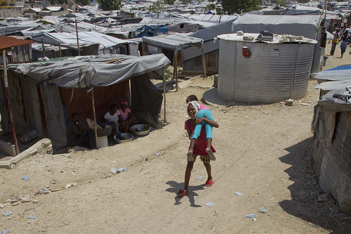 Camp Relocation Efforts | by United Nations Stabilization Mission In Haiti