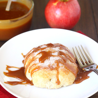 Baked Apple Dumplings with Caramel Sauce | by Tracey's Culinary Adventures