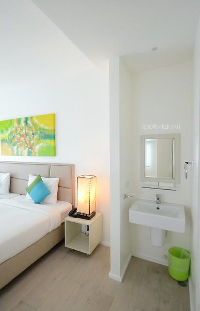 lime hotel boracay vanity mirror
