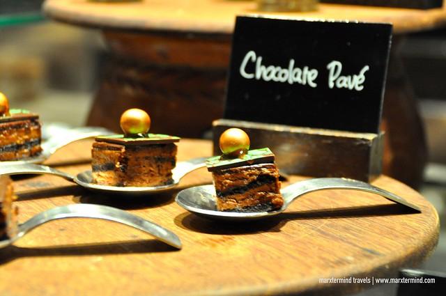 Sampled Desserts at Signatures Restaurant Hotel Indonesia