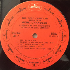 GENE CHANDLER:THE GENE CHANDLER SITUATION(LABEL SIDE-B)