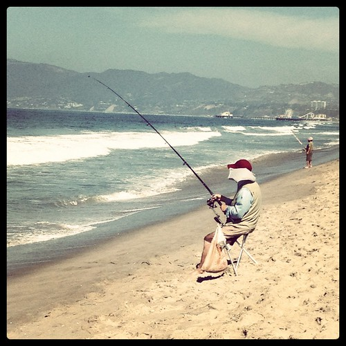Fisherman - Relaxation at Venice Beach | by agnesjoseph