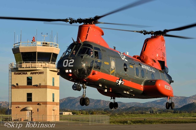 HH-46 'Phrog' Hops to California Helo Museum