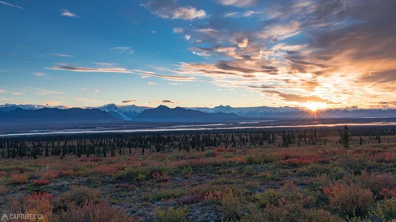 Sunrise - Denali Highway
