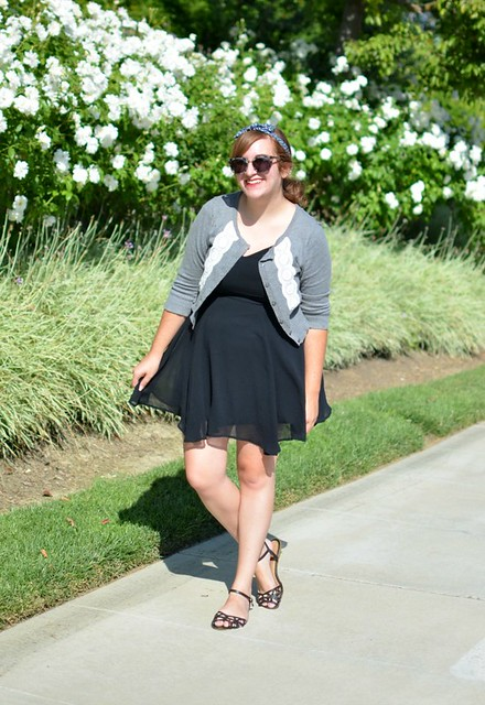 gray-cardigan-tj-maxx-black-dress