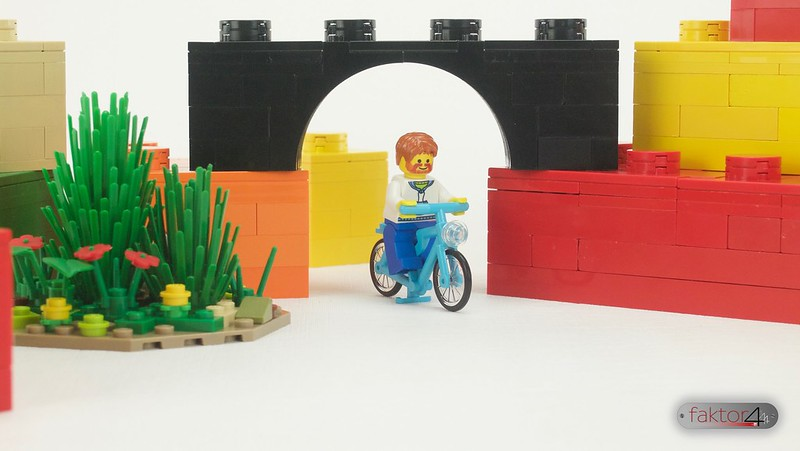 A ride in the bricks