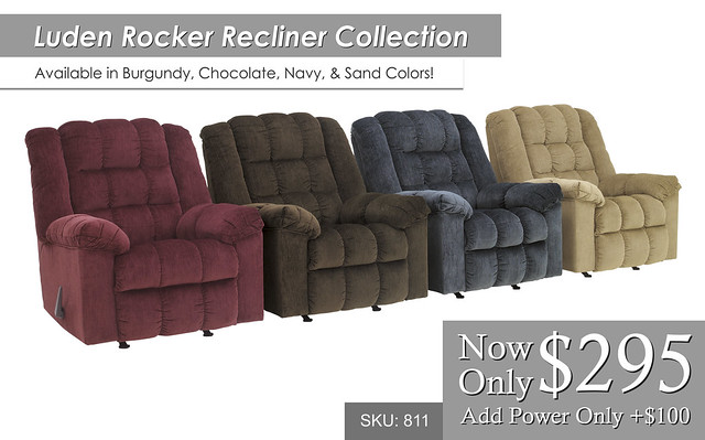 Luden Rocker Recliner Collection 811