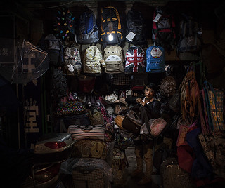 Yunnan Nights I - Bag Man | by Michael Steverson