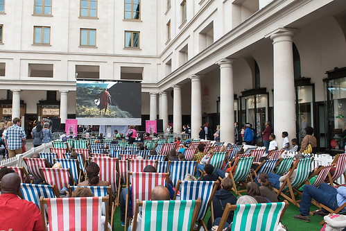 Africa in the Piazza © Elliott Franks / ROH 2012 | by Royal Opera House Covent Garden