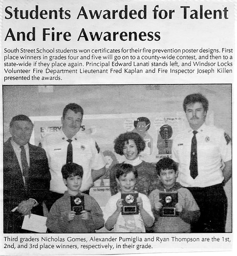 1991 - FIRE PREVENTION - 01 | by JERRY DOUGHERTY'S CONNECTICUT