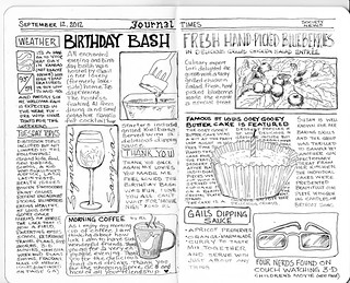 Page 2 Journal Times  Day 4 Sketch Challenge | by Artstudio309