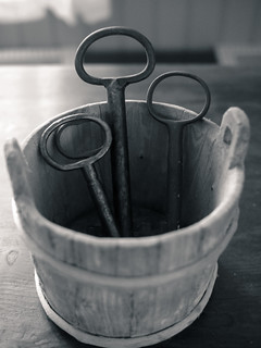 Bucket of keys | by blaahhi