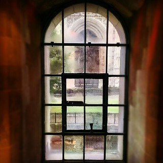 Window in the Jewel Tower - one of the last two surviving buildings of the original Palace of Westminster. | by tripleseis