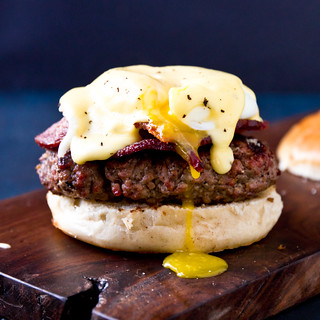 Eggs Benedict Burger | by TheBrewer&TheBaker