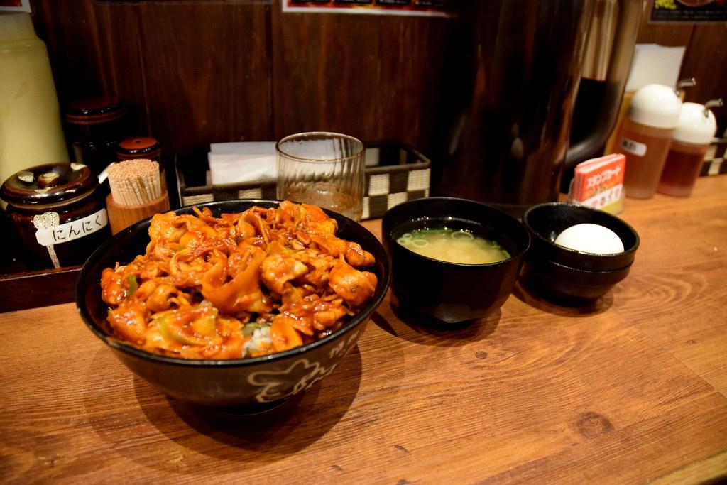 Kimchi sutadon