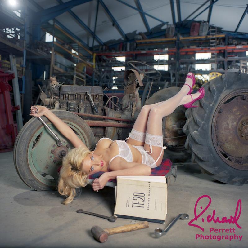 Tractor Girls 2 by Deathrockstock on DeviantArt